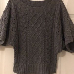 Express Dolman Super Chunky Sweater Short Sleeve